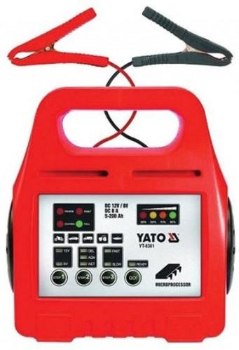 Nabíjačka akumulátorov YATO YT-8301 6/12V 8A