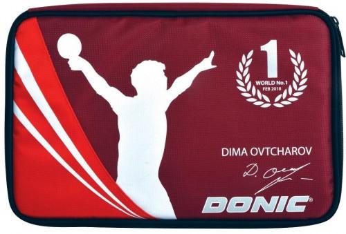 Obal na raketu DONIC Ovtcharov Plus - červený