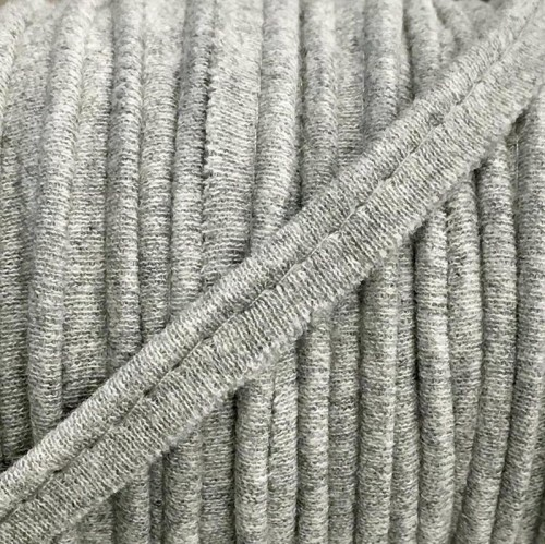 Paspulka úplet melir light grey