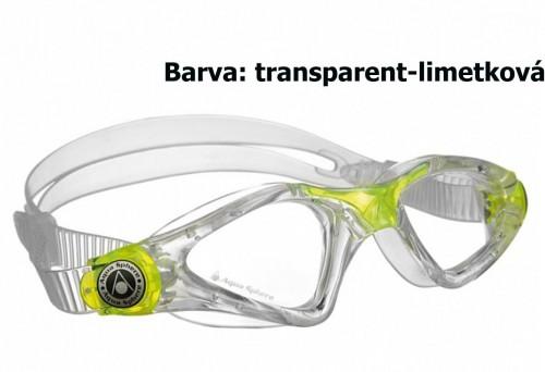 Plavecké okuliare AQUA SPHERE Kayenne - transparent-limetkové