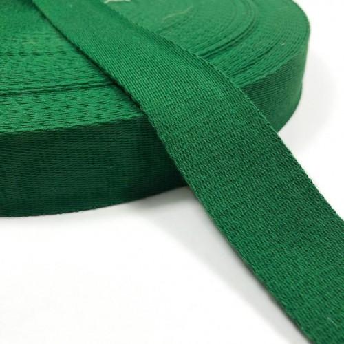 Popruh bavlna 4 cm grass green
