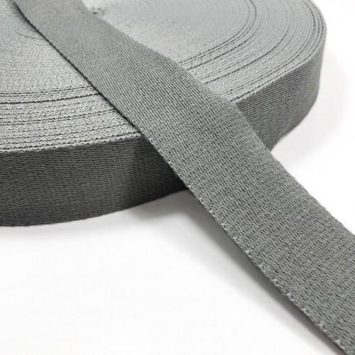 Popruh bavlna 4 cm light grey