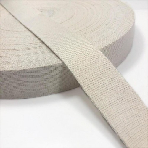Popruh bavlna 4 cm off white