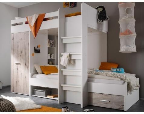 Poschodova postel š/v/h: 269/180/115 cm