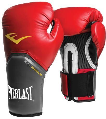 Rukavice EVERLAST Pro Style Elite - červené 12oz.