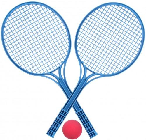 Sada na soft tenis - modrá