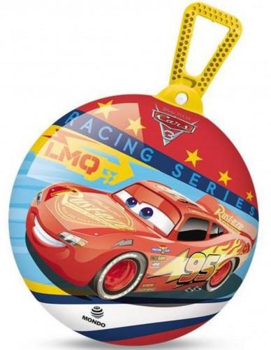 Skákacia lopta MONDO s držadlom Cars 45 cm