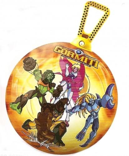 Skákacia lopta MONDO s držadlom Gormiti 45 cm