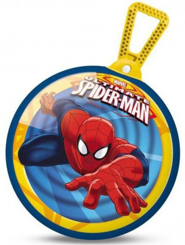 Skákacia lopta MONDO s držadlom Spiderman 45 cm