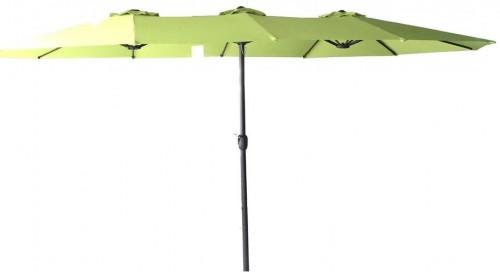 Slnečník oválny zelený
