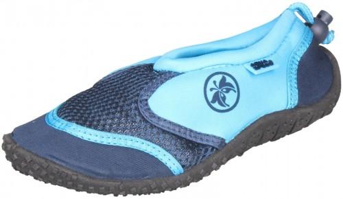 Topánky do vody AQUA-SPEED Jadran 14 detské modré - veľ. 23