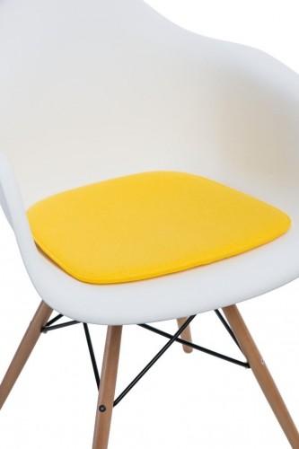 Vankúš na stoličky Arm Chair žltý