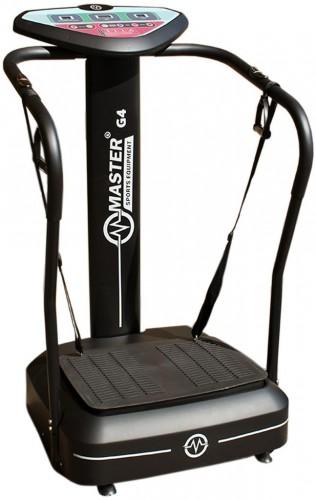 Vibračný posilňovací stroj MASTER G4 - čierny