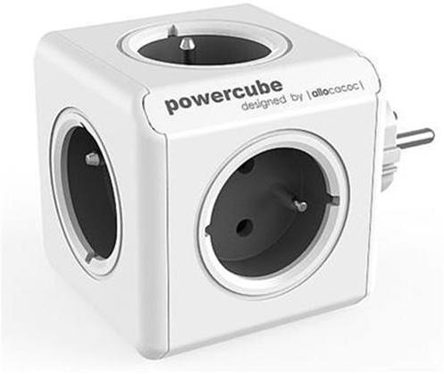Zásuvka PowerCube ORIGINAL, Grey, 5-ti rozbočka 423651