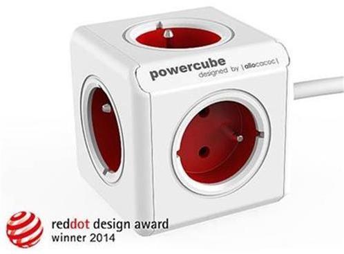 Zásuvka predlž. PowerCube EXTENDED, Red, 5-ti rozbočka, kabel 1,5m 423677