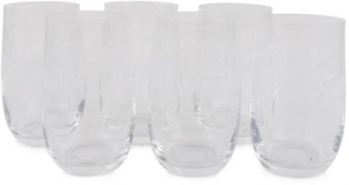 Sada 6 sklenených pohárov Lavros