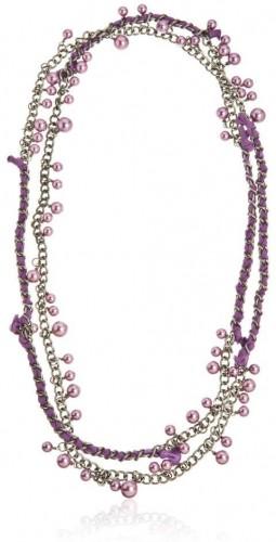Dámsky náhrdelník v striebornej farbe NOMA Lindsey