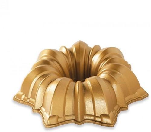 Forma na bábovku v zlatej farbe Nordic Ware Solera, 1,2 l