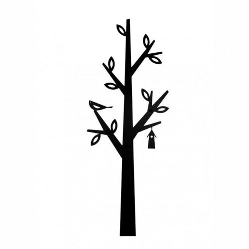 Čierny kovový vešiak Nørdifra Tree