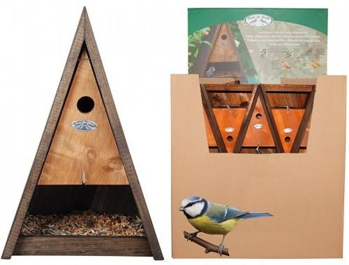 Kŕmidlo pre vtáky so strieškou 25,8x18,0x39,5cm
