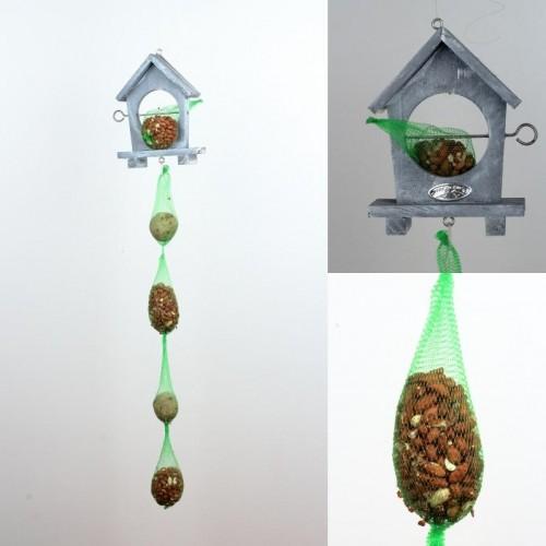 Závesné krmítko pre vtáky s kŕmením 87cm
