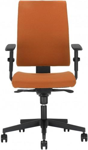 NOWY STYL Intrata O 12 FS kancelárska stolička s podrúčkami oranžová / čierna