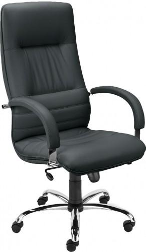 NOWY STYL Linea kancelárske kreslo s podrúčkami čierna