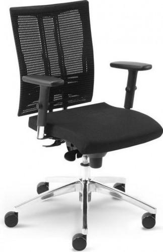 NOWY STYL Motion FS kancelárska stolička s podrúčkami čierna
