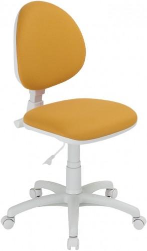 NOWY STYL Smart White detská stolička na kolieskach oranžová / biela