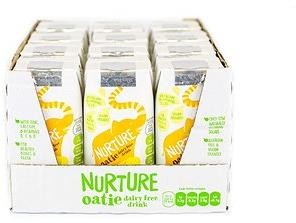Natural Immune Products Nurture Oatie dairy free drink 12x 200ml Banana