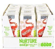 Natural Immune Products Nurture Oatie dairy free drink 12x200ml Strawberry