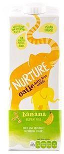 Natural Immune Products Nurture Oatie dairy free drink 1l Banana