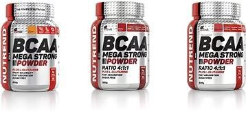 Nutrend BCAA Mega Strong Powder, 500 g