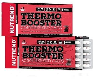 Nutrend Thermobooster Compressed Caps, 60 kapslí