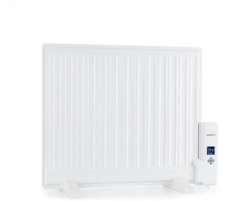 OneConcept Wallander, olejový radiátor, 600 W, termostat, olejové vyhrievanie, plochý dizajn, biely