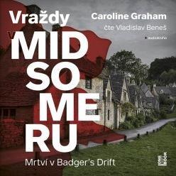 Mrtví v Badger´s Drift - Vraždy v Midsomeru - audiokniha