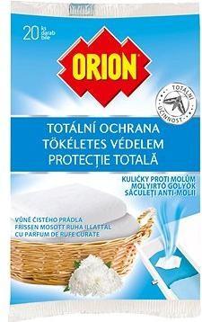 ORION Kuličky proti molům 20 ks
