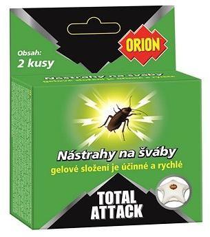 ORION Total Attack Nástrahy na šváby 2 ks