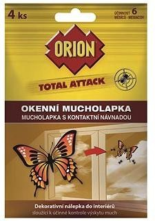 ORION Total Attack Okenní Mucholapka 4 ks