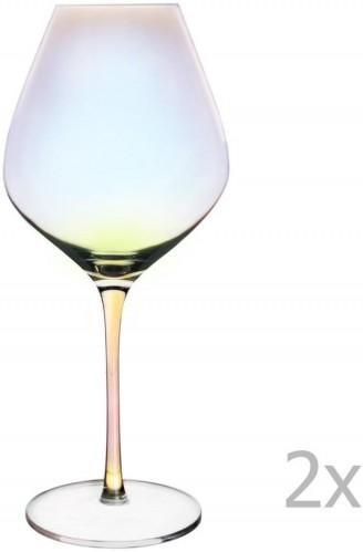 Sada 2 pohárov na červené víno Orion Luster, 650 ml