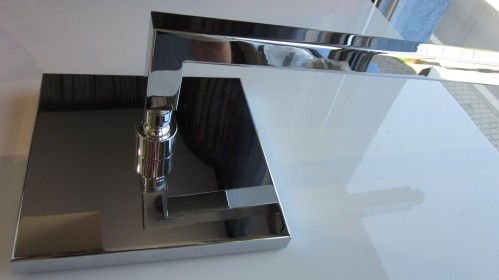 OSTATNÉ Flexton Prisma - pevná hlavová sprcha, s ramenom, TEFL 72H28