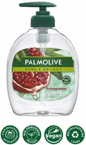Palmolive Tekuté mydlo Pure & Delight Pomegranate (Hand Wash) 300 ml