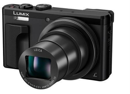 Fotoaparát Panasonic DMC-TZ80-K, 18 Mpx, 30x zoom 24mm, HOIS, 4K, WiFi, hľadáčik, čierny DMC-TZ80EP-K