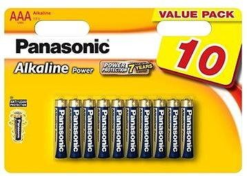 Panasonic AAA Alkaline Power LR03 10ks