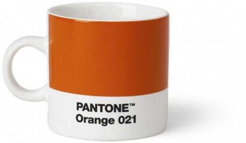 Oranžový hrnček Pantone Espresso, 120 ml