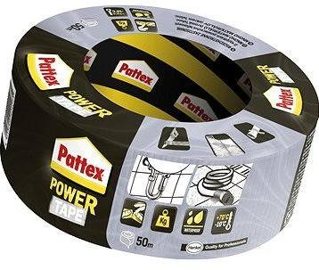 PATTEX Power tape stříbrná 50 m