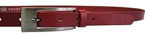 Penny Belts Dámsky kožený opasok 20-177-93 Červený 110 cm