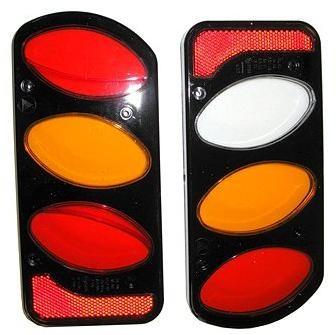 Peruzzo plasty světel černé - náhradní pro nosiče