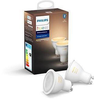 Philips Hue White Ambiance 5.5W GU10 set 2ks