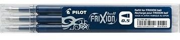 PILOT Frixion 0.5/0.25mm modročerná 3ks
